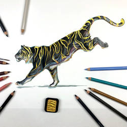 Day 160: Golden Tiger