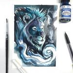 Day 165: Galaxy Lion