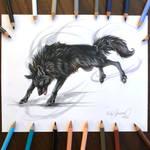Day 181: Black Wolf