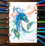 Day 189: Peacock Dragon