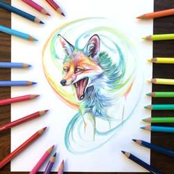 Day 193: Rainbow Fox
