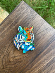 Day 211: Tiger Spirit Pin