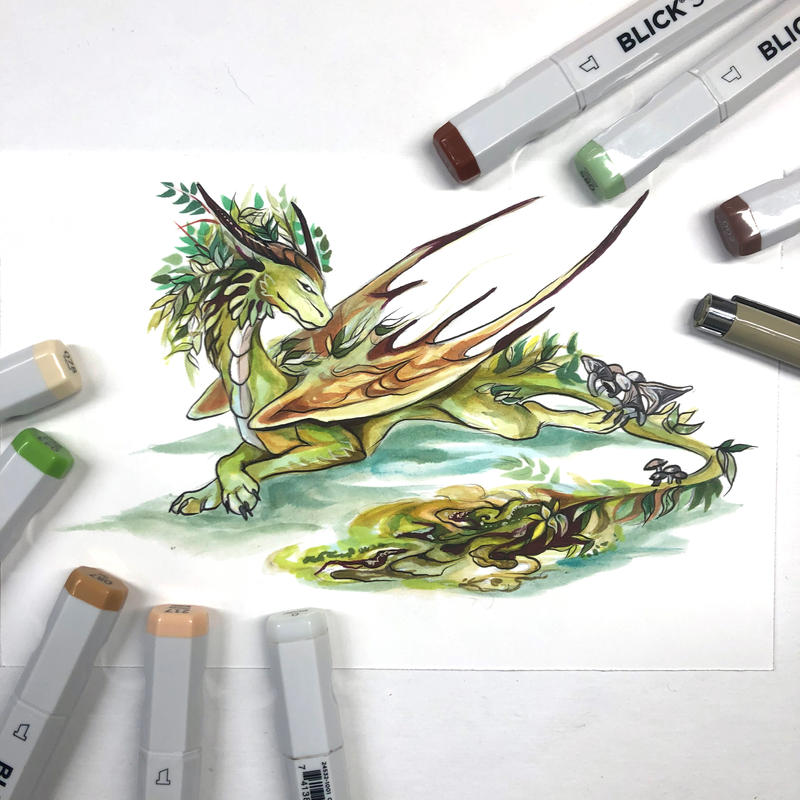 Day 222: Forest Dragon