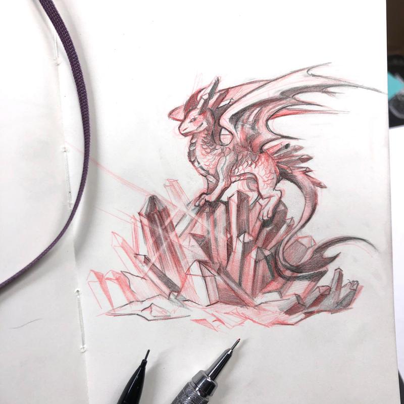 Day 232: Crystal Dragon
