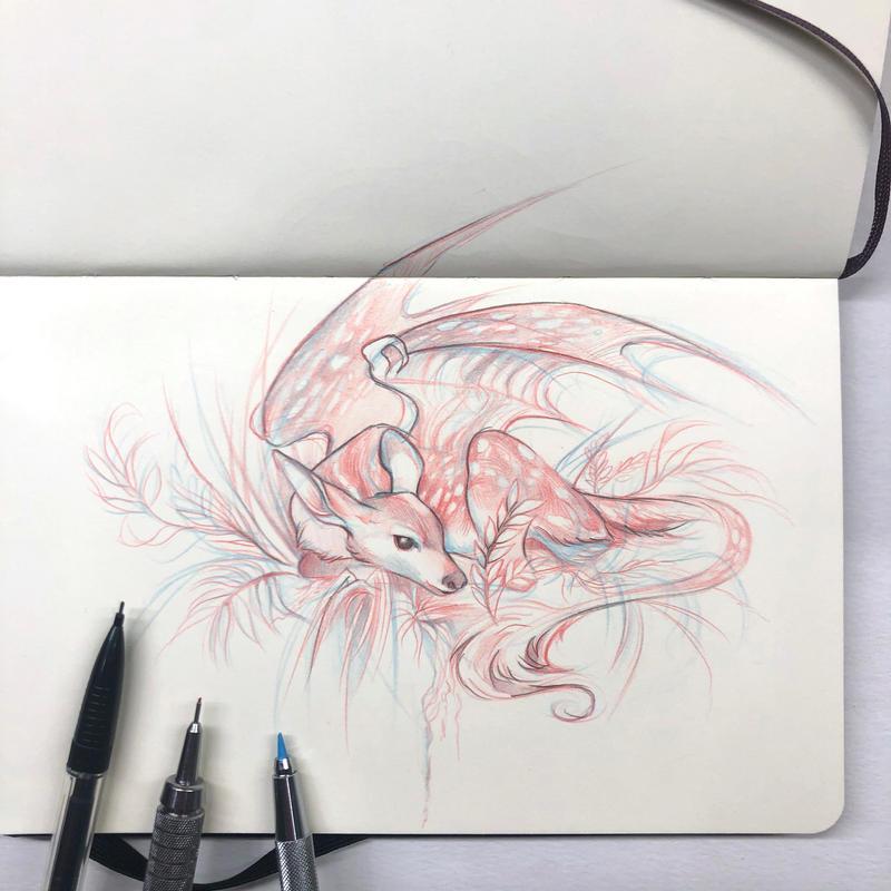 Day 234: Fawn Dragon