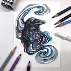 Day 248: Galaxy Raven