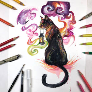 Day 275: Galaxy Cat