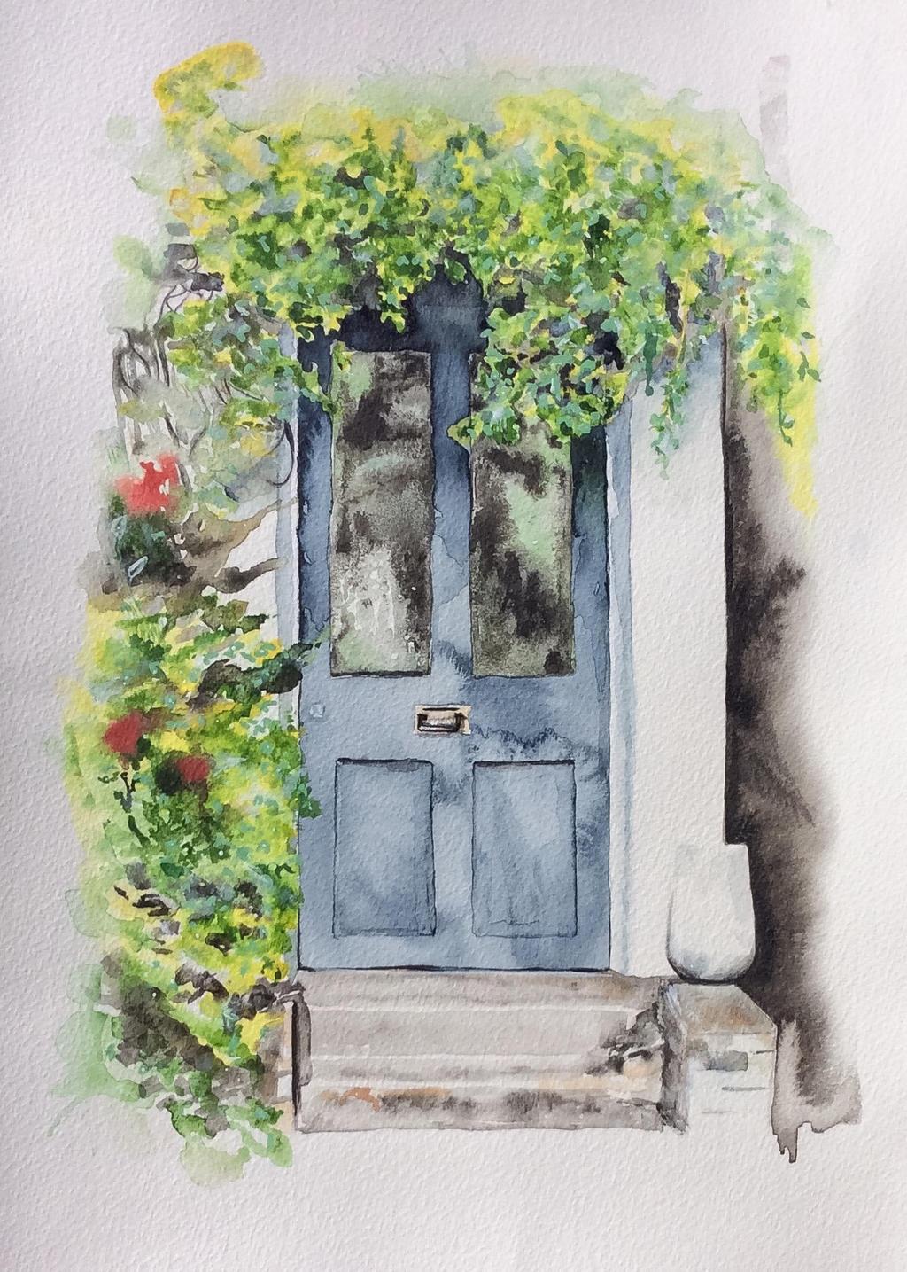 Doorway in London