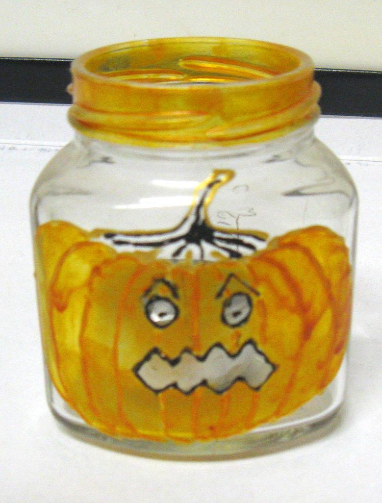 Glass - halloween by CinnamonBlue