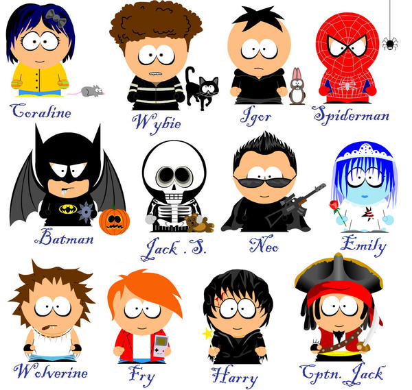 Watch Avatar Movie Part 2: South Park Film Characters By 666doomkitty666 On DeviantArt