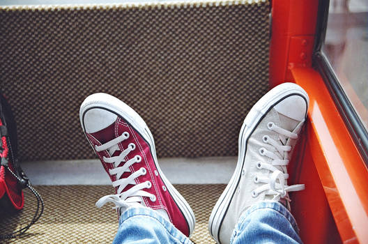 Two-Colored Shoes