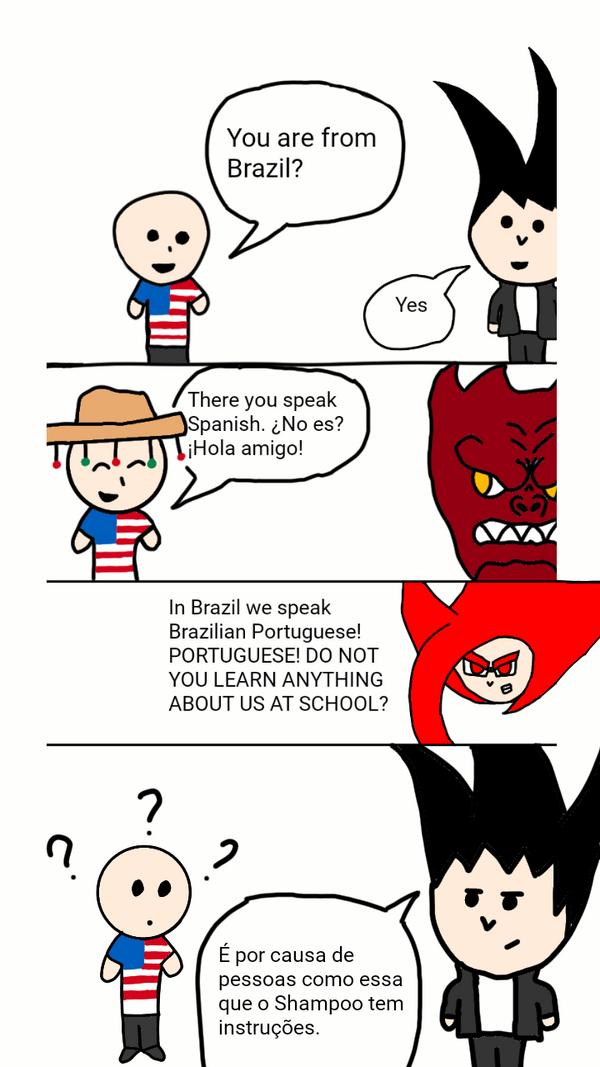 I dont speak Espanhol! Eu falo Portugues by WeverthonGTABR