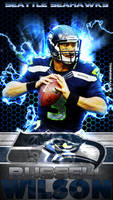 Russell Wilson Cell Phone Wallpaper