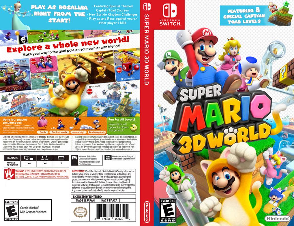 Super Mario 3D World Switch by Brian-ArtPoint on DeviantArt