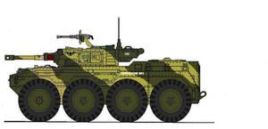 Hussar 8x8 APC
