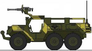 Hunter 6x6 Wheeled transport