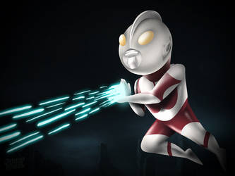 Ultraman by phig
