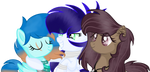 [CE] Thunder, Clear and Coco (Vector) by CupcakeEdits20