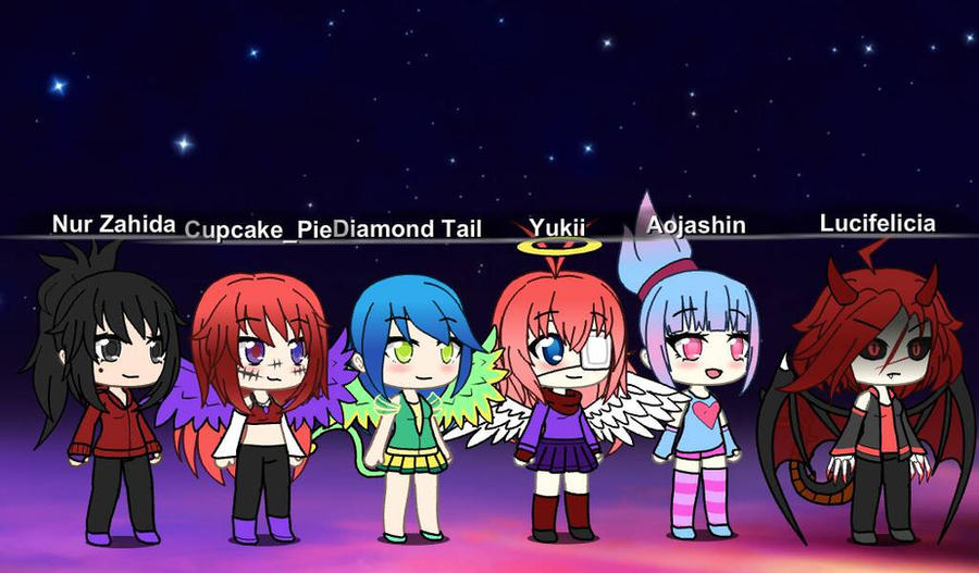 mlp ocs in Gachaverse by CupcakeEdits20