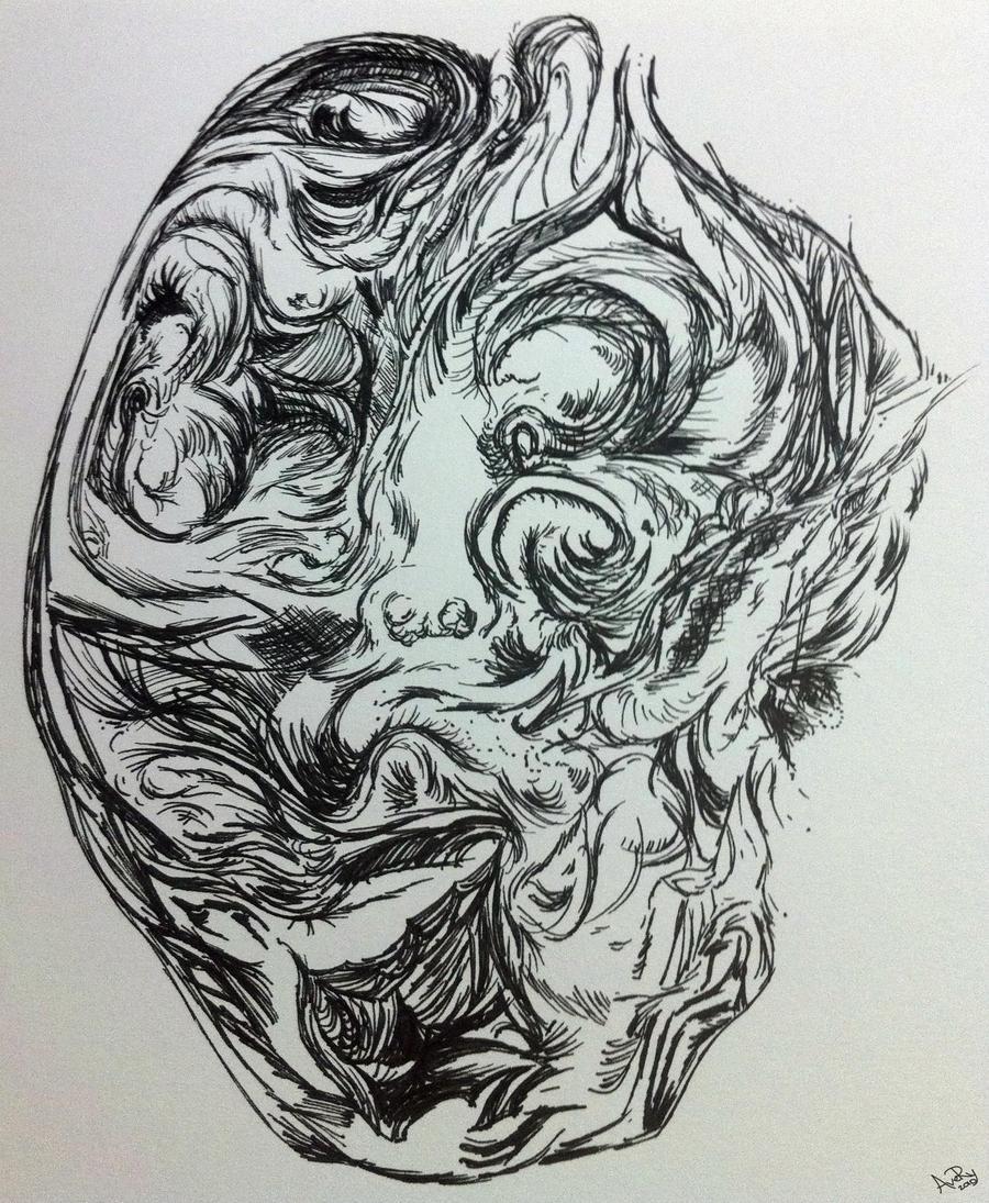 Heartless Mummy by AveryKroft