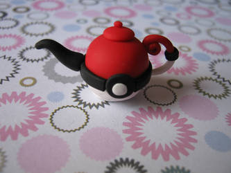 pokeball teapot by Vocalist-RedSpade