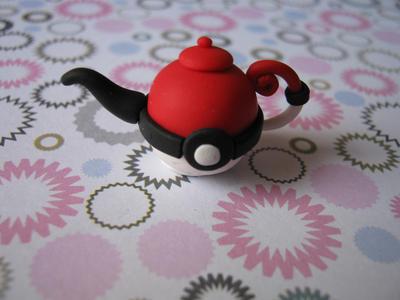 pokeball teapot
