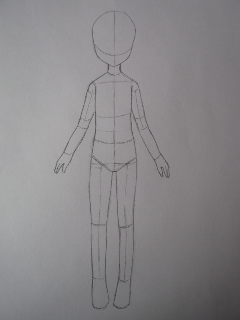 This is a graphic of Sweet Male Body Drawing Base