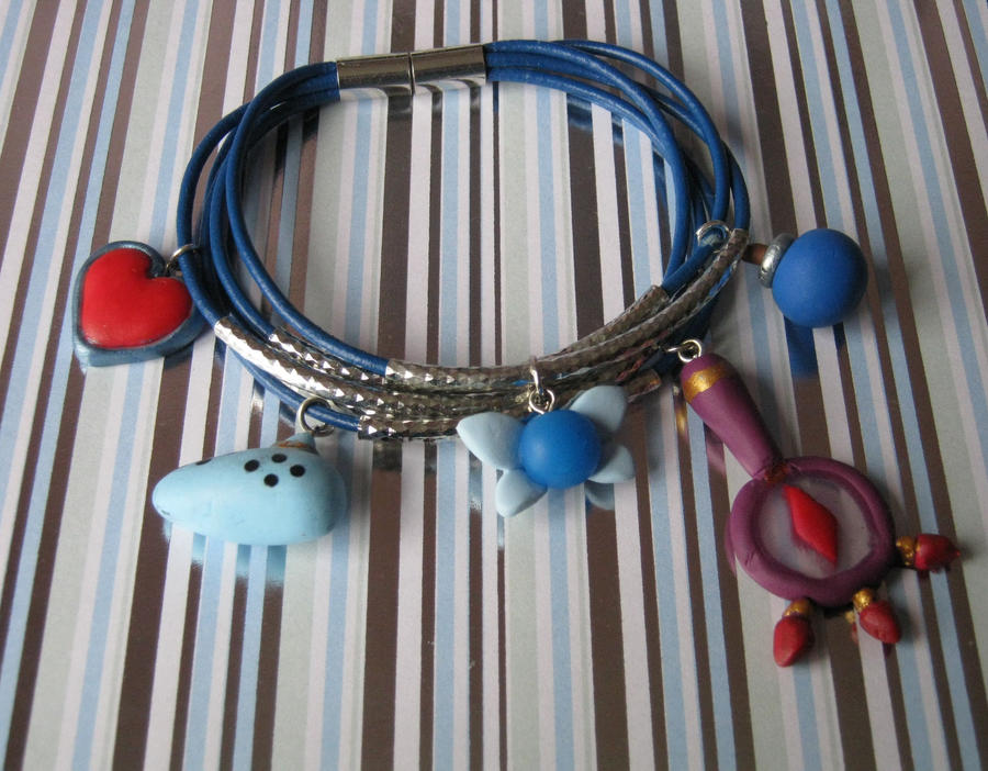 new zelda bracelet by Vocalist-RedSpade