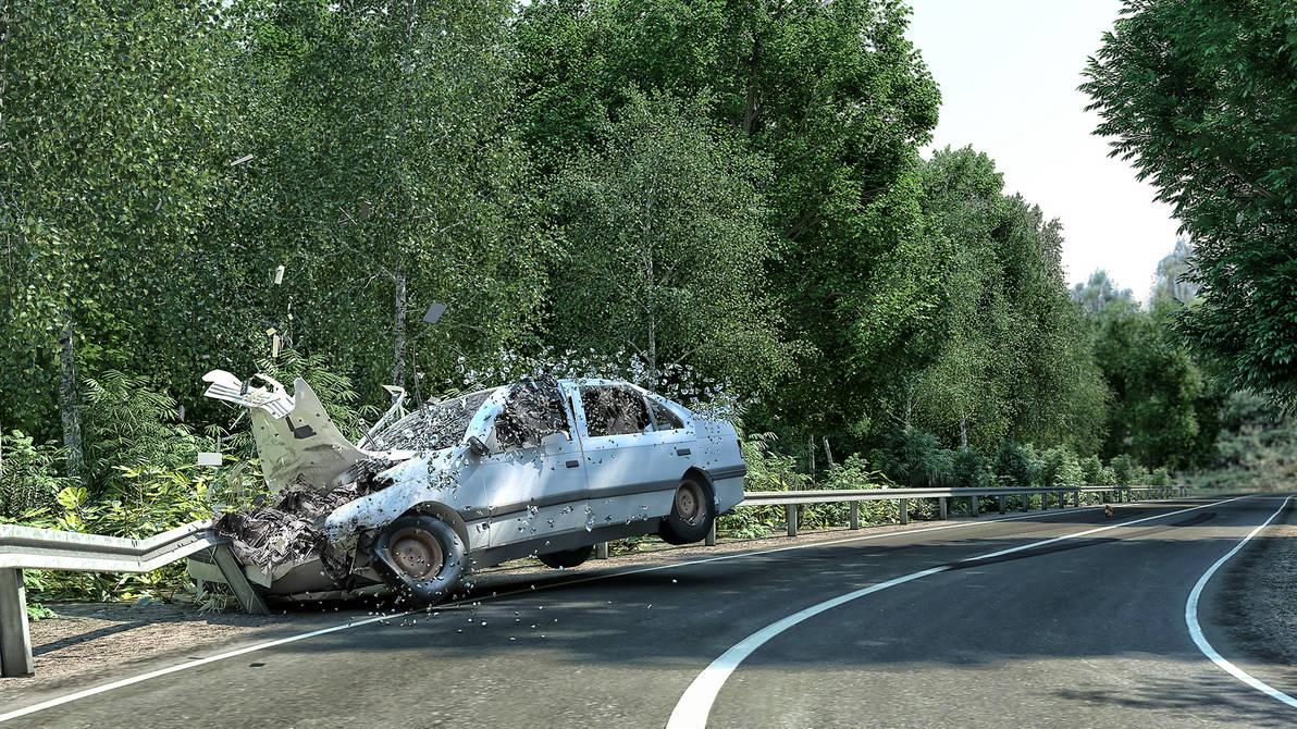 Peugeot 405 Crash by Remy31460 on DeviantArt