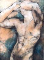Male Nude by blackhair85