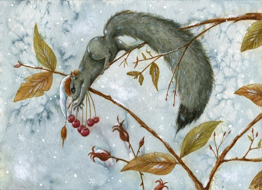 Silver fur by WinterImp