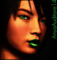A Portrait of Jade by AnyaAuditore14