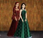 Kaya and Shauni Shepard Tudors Style