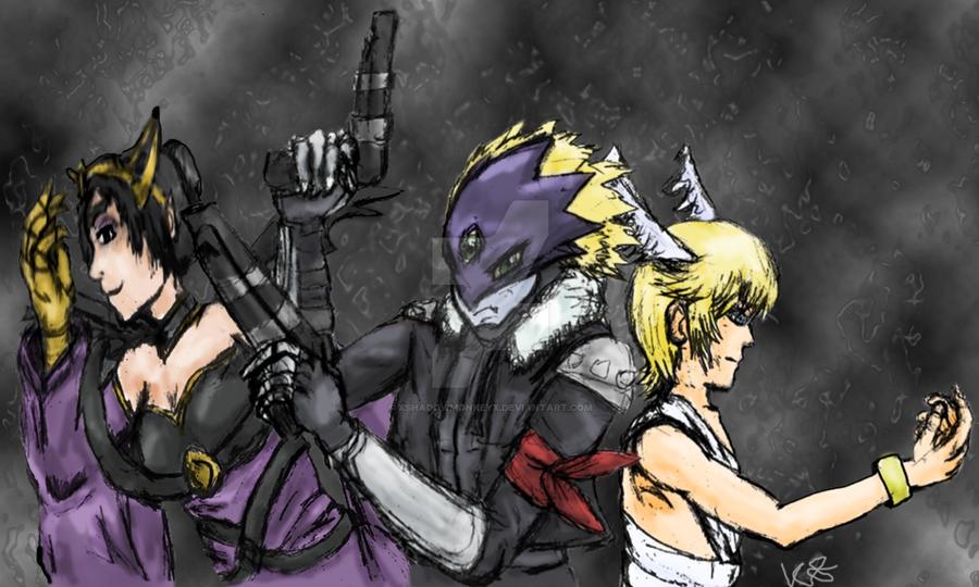 Digimon Sin Trio by xshadowmonkeyx