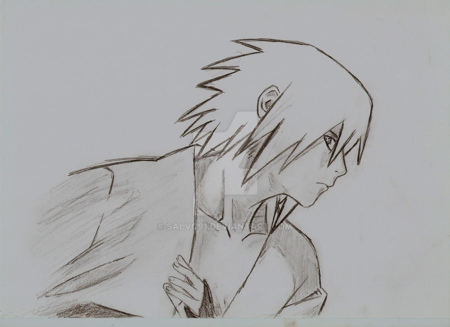 Sasuke Lineart : Sasuke shippuden by salvo on deviantart