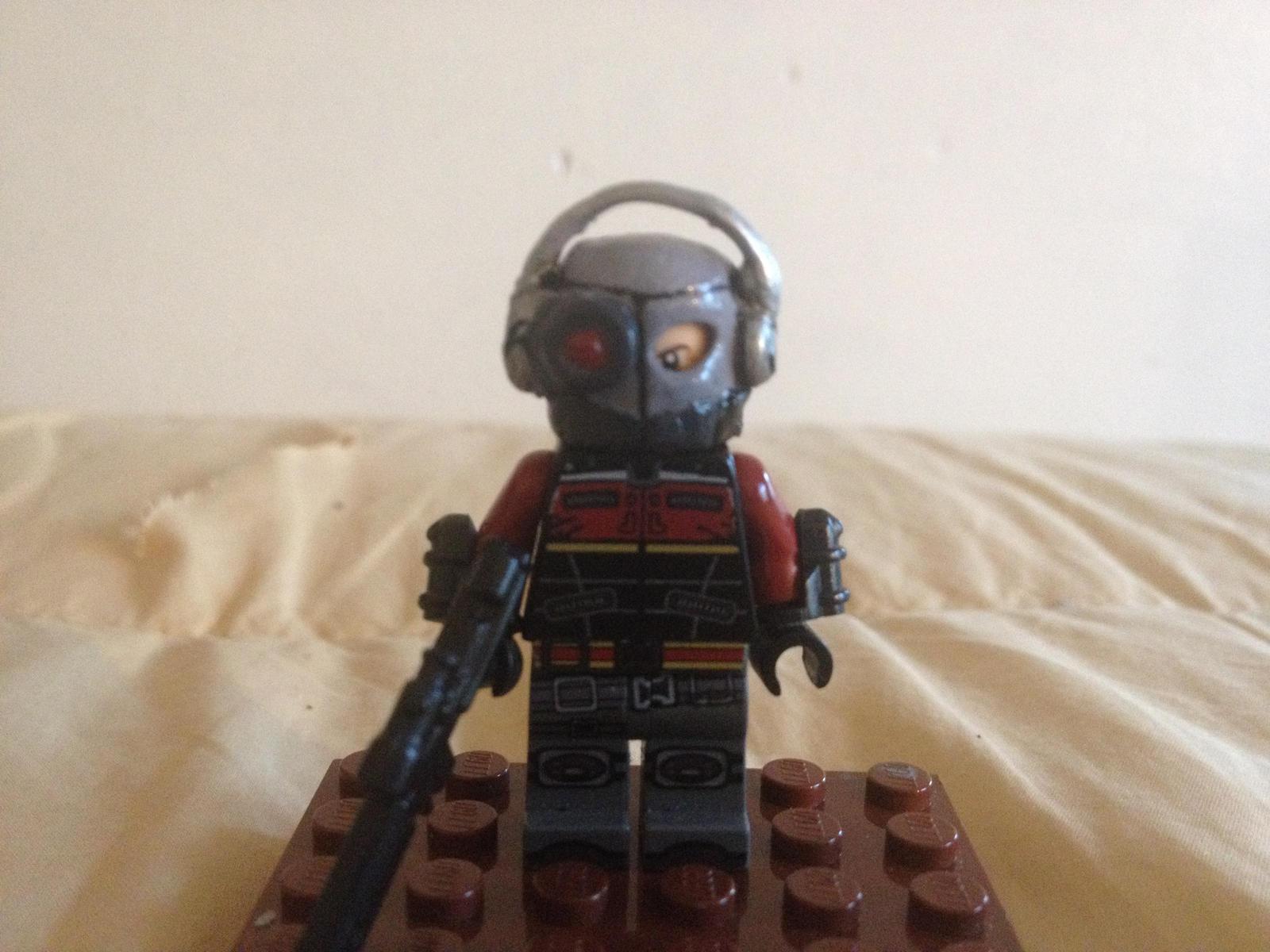 Lego Custom Deadshot (Arkham Origins Front) by Fx ...