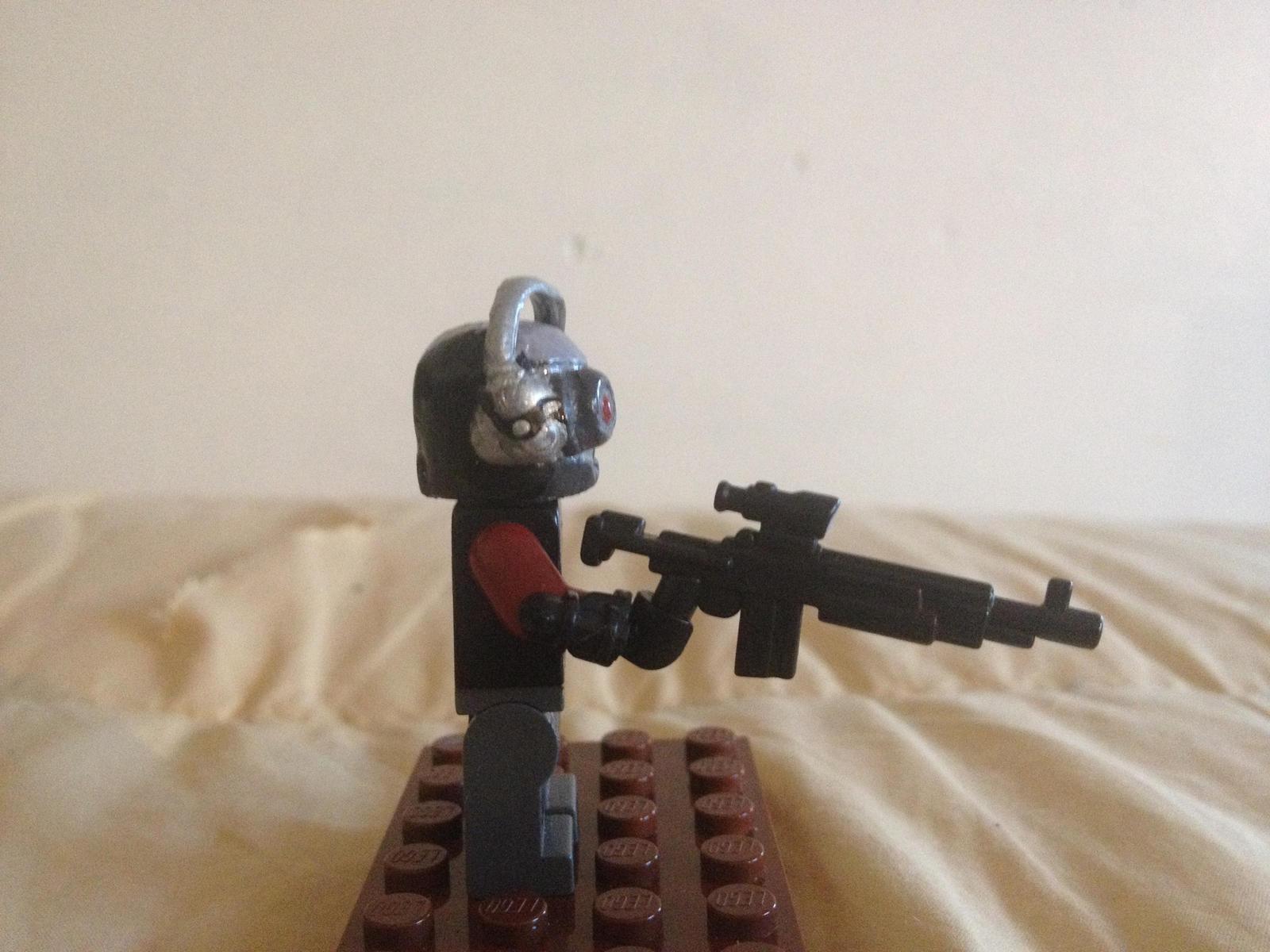 Lego Custom Deadshot (Arkham Origins Right) by Fx ...