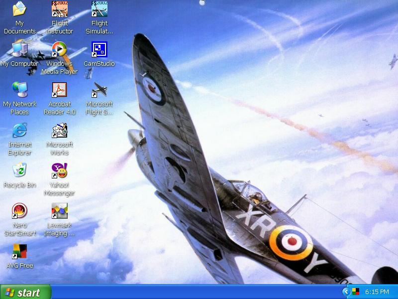 Spitfire Desktop By Hells Wingman On Deviantart