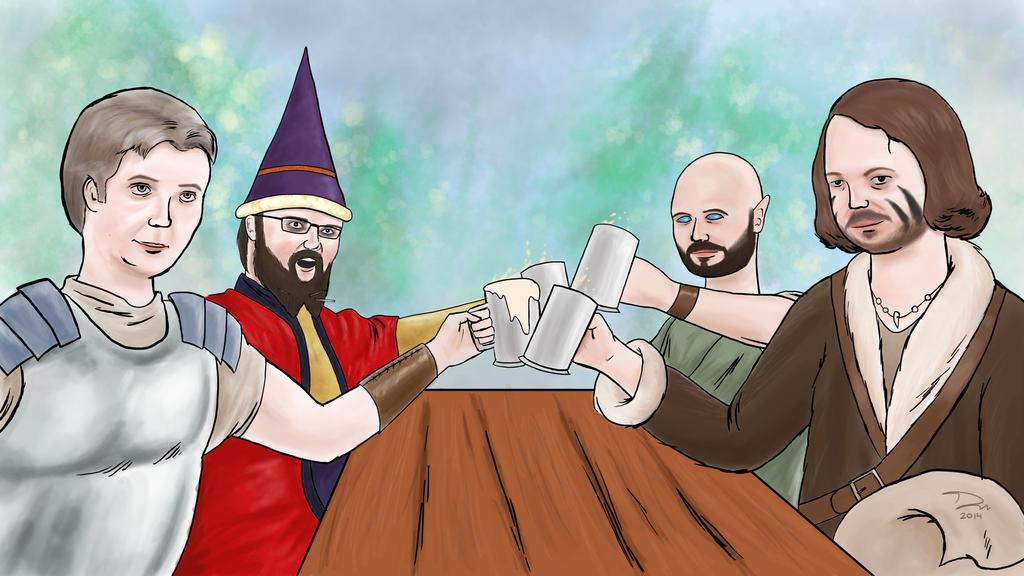 Drunk Dungeon World by Hells-Wingman