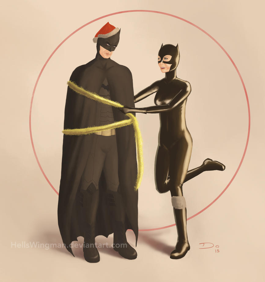 Batman and Catwoman's Christmas by Hells-Wingman