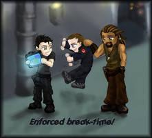 SGA: Enforced Break-Time by Gnine