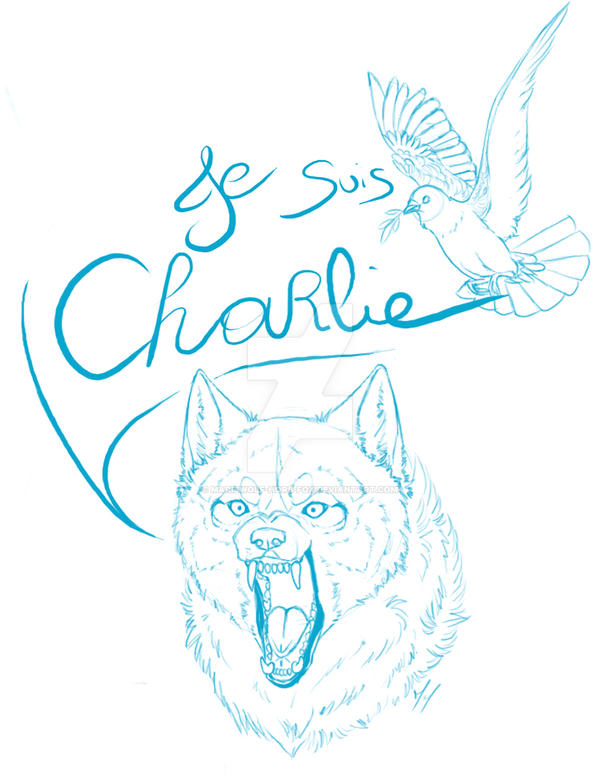 Je suis Charlie by mariewolf-hors-fox