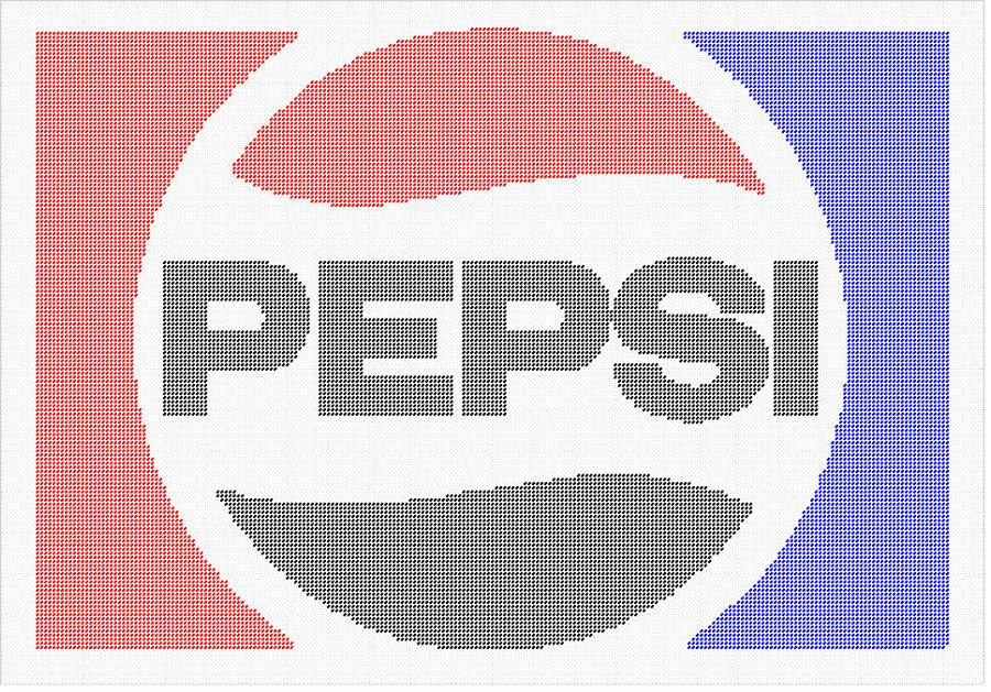 Pepsi Logo Plastic Canvas Pattern! by phillipfanning
