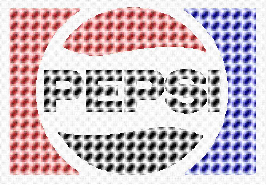 Pepsi Logo Plastic Canvas Pattern! by phillipfanning