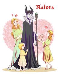 Maleficent X Aurora Deviantart