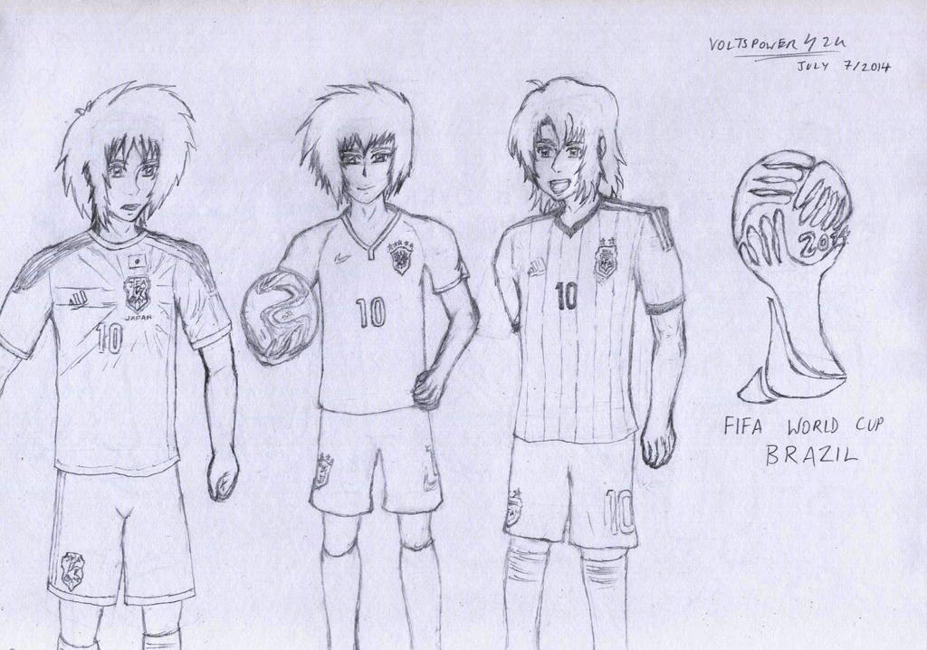 SEED Destiny- 2014 World Cup by VoltsPower2K