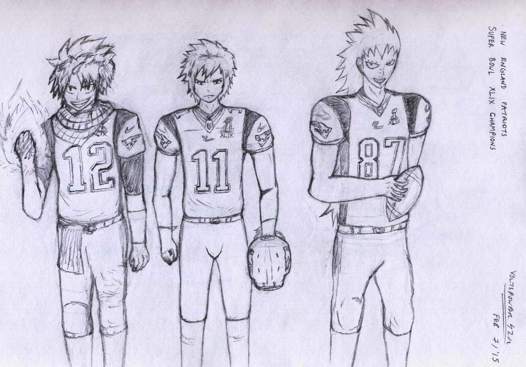 Fairy Tail- The Super Bowl Champions by VoltsPower2K