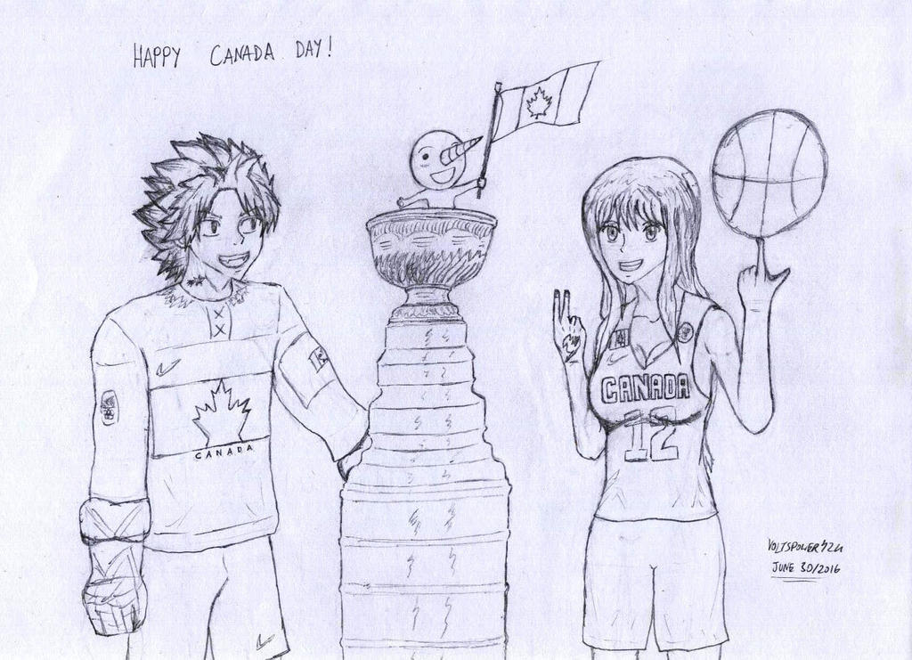 FT NaLu Week 2016- Canada and Sports by VoltsPower2K