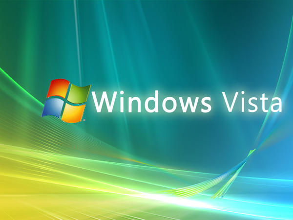 Windows Vista Wallpaper Text By B Sign