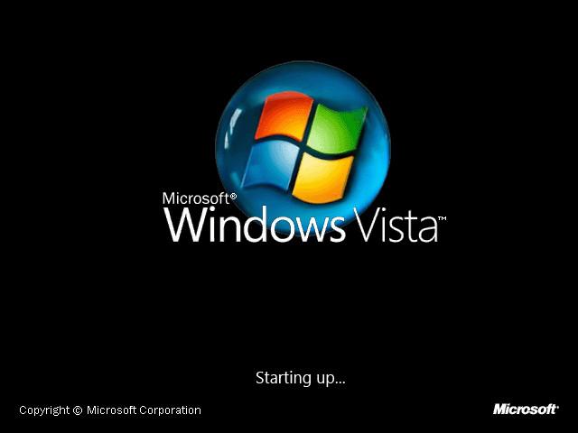 Windows Vista Bootscreen By B Sign